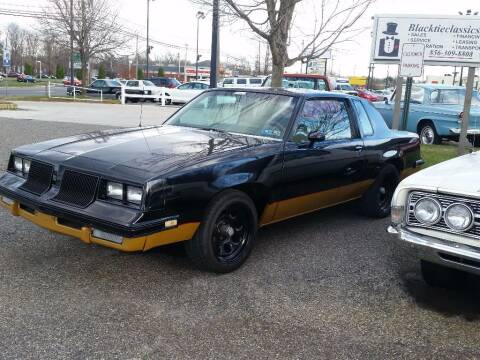 1986 Oldsmobile Cutlass for sale at Black Tie Classics in Stratford NJ