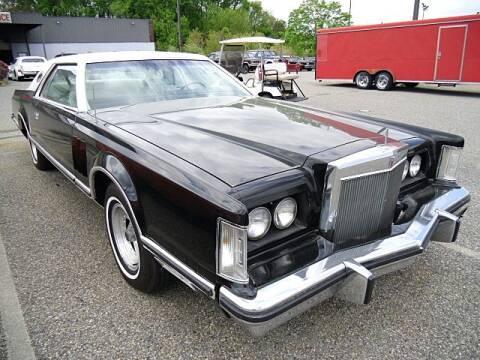 1977 Lincoln Mark V for sale at Black Tie Classics in Stratford NJ