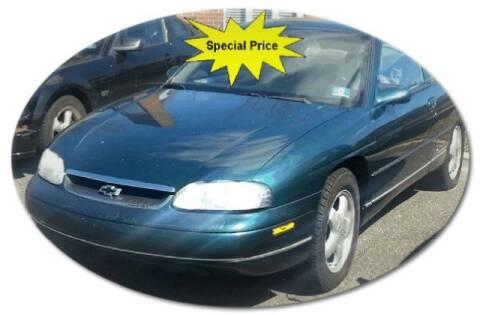 1999 Chevrolet Monte Carlo for sale at Black Tie Classics in Stratford NJ