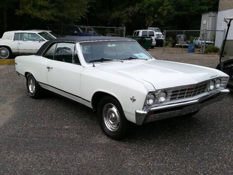 1967 Chevrolet Chevelle for sale at Black Tie Classics in Stratford NJ