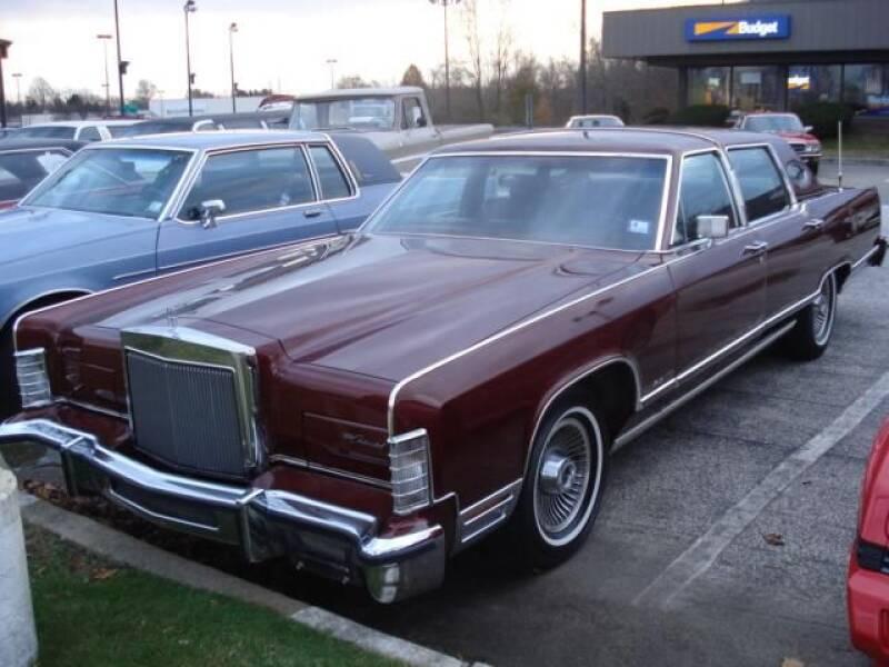 1979 Lincoln Town Car for sale at Black Tie Classics in Stratford NJ