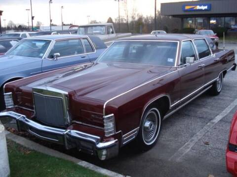 1979 Lincoln Town Car for sale at Black Tie Classics in Stratford NJ