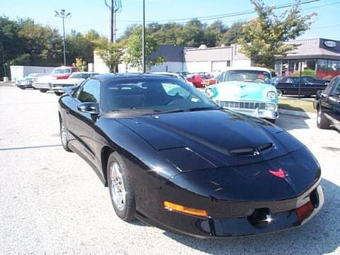 1994 Pontiac Trans Am for sale at Black Tie Classics in Stratford NJ