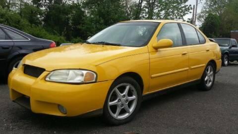 2003 Nissan Sentra for sale at Black Tie Classics in Stratford NJ