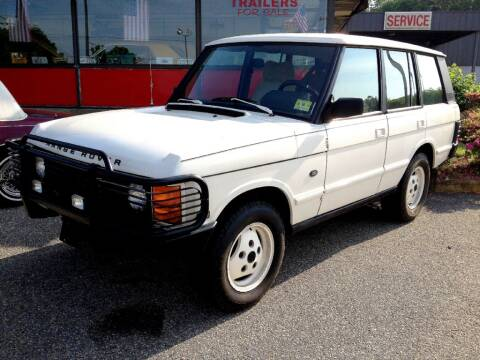 1989 Land Rover Range Rover for sale at Black Tie Classics in Stratford NJ