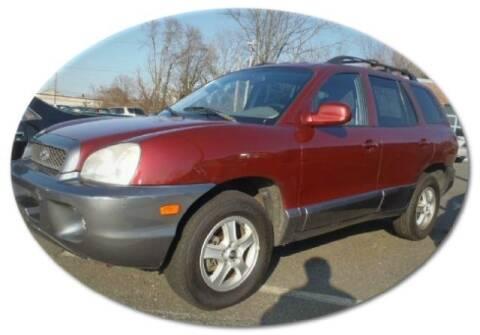 2004 Hyundai Santa Fe for sale at Black Tie Classics in Stratford NJ