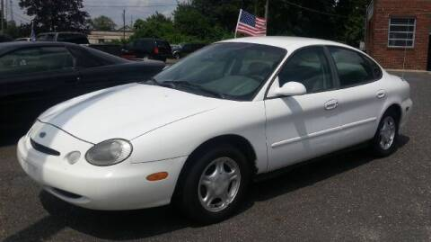1996 Ford Taurus for sale at Black Tie Classics in Stratford NJ