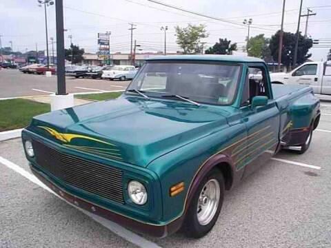 1971 Chevrolet C/K 20 Series for sale at Black Tie Classics in Stratford NJ