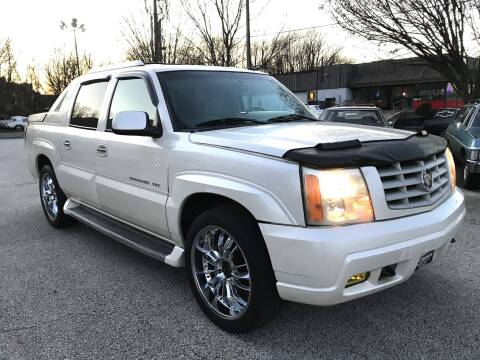 2002 Cadillac Escalade EXT for sale at Black Tie Classics in Stratford NJ