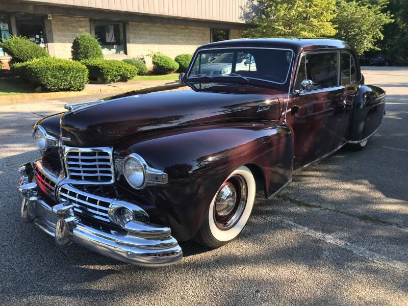 1948 Lincoln Continental for sale at Black Tie Classics in Stratford NJ