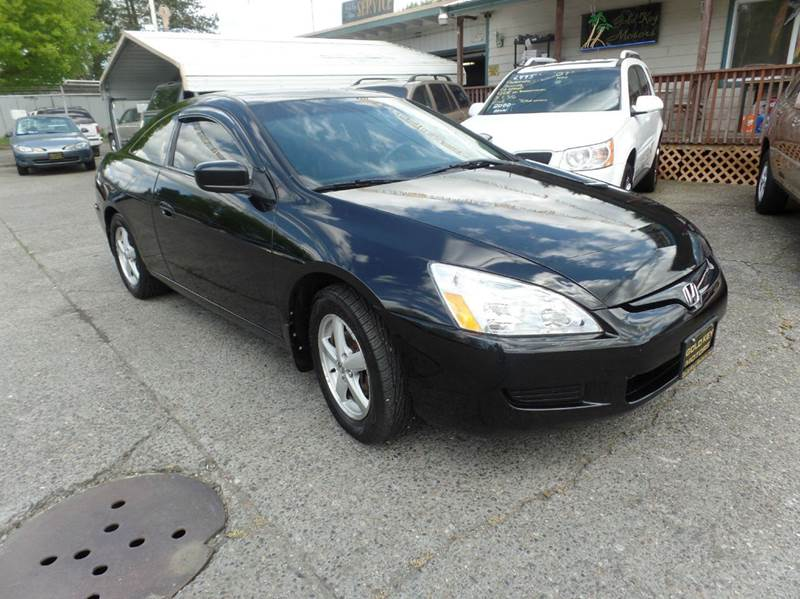 2005 honda accord ex 2dr coupe w leather in centralia wa