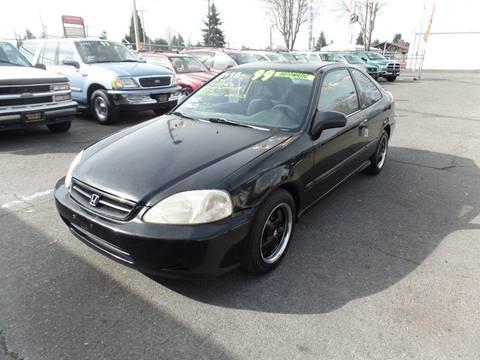 1999 Honda Civic for sale in Centralia, WA
