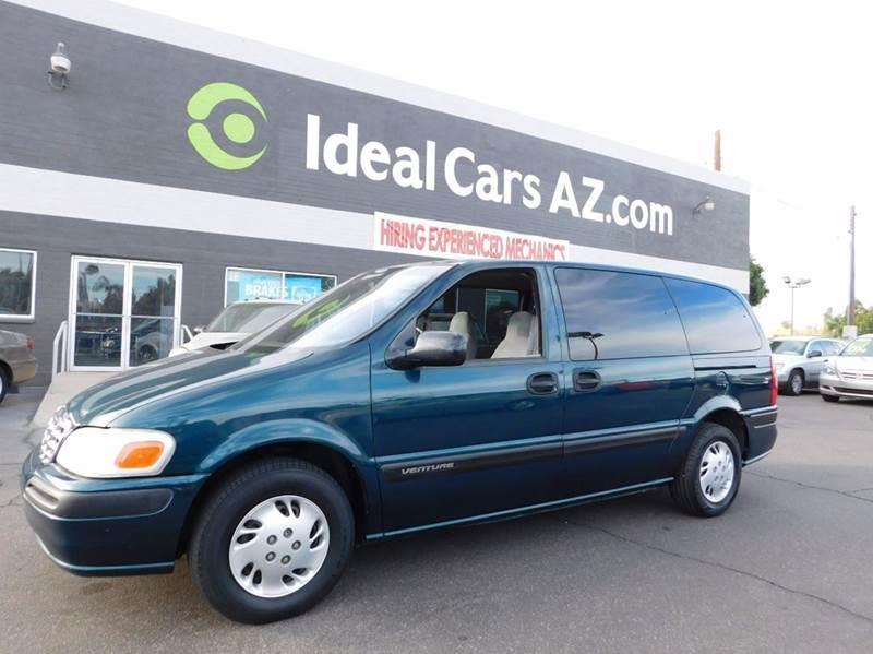 Chevrolet Venture Dr Extended MiniVan In Mesa AZ Ideal Cars - Chevrolet dealer mesa az