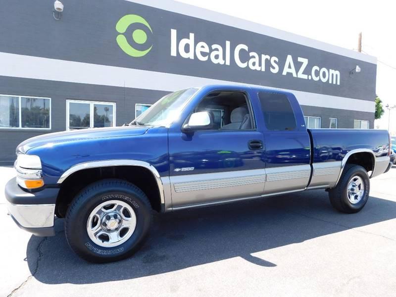 2000 Chevrolet Silverado 1500 3dr Ls 4wd Extended Cab Sb In Mesa Az