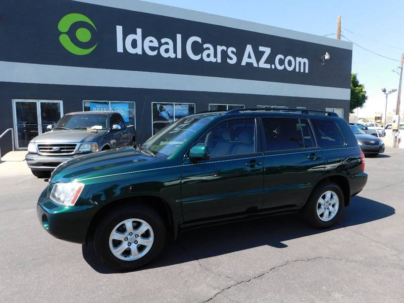 2002 Toyota Highlander Limited 2WD 4dr SUV In Mesa AZ - Ideal Cars