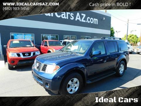 2006 Nissan Pathfinder For Sale >> 2006 Nissan Pathfinder For Sale In Mesa Az