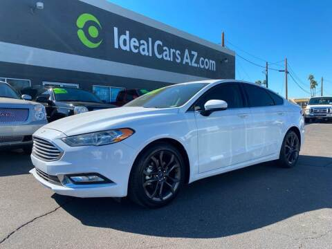 2018 Ford Fusion for sale at Ideal Cars in Mesa AZ