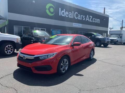 2016 Honda Civic for sale at Ideal Cars East Mesa in Mesa AZ