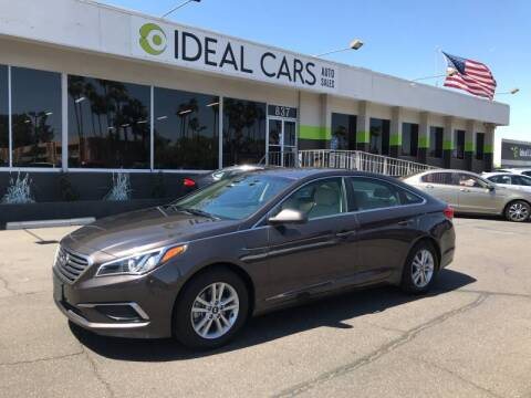 2017 Hyundai Sonata for sale at Ideal Cars Broadway in Mesa AZ