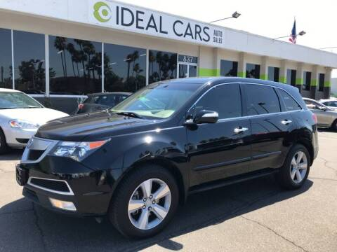 2012 Acura MDX for sale at Ideal Cars East Mesa in Mesa AZ