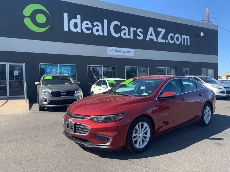 2018 Chevrolet Malibu for sale at Ideal Cars East Mesa in Mesa AZ