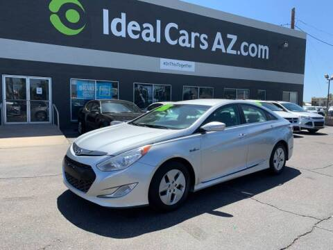 2012 Hyundai Sonata Hybrid for sale at Ideal Cars Apache Trail in Apache Junction AZ