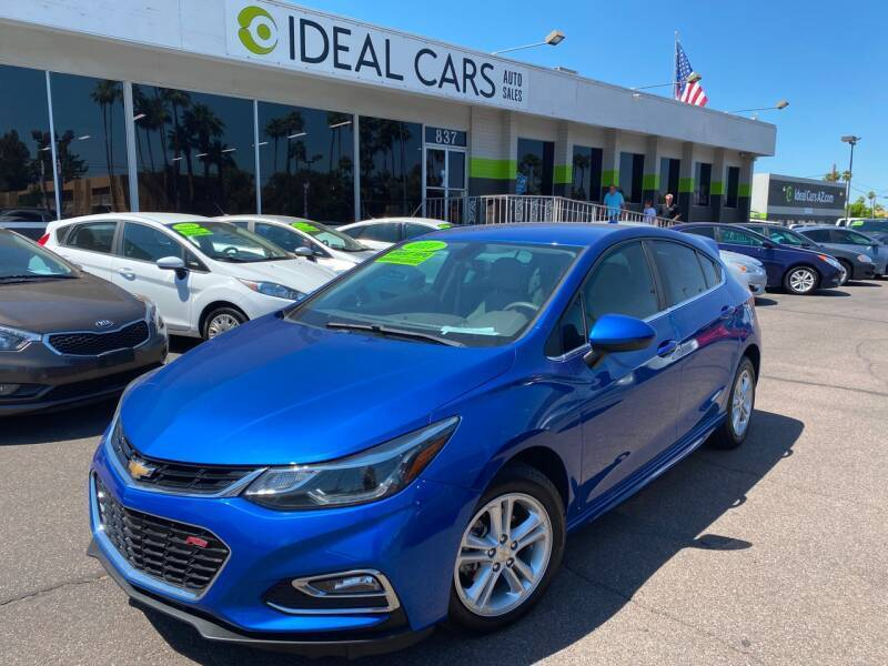 2017 Chevrolet Cruze for sale at Ideal Cars East Mesa in Mesa AZ