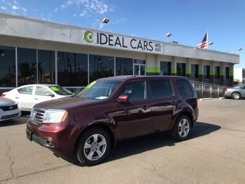 2014 Honda Pilot for sale at Ideal Cars Broadway in Mesa AZ