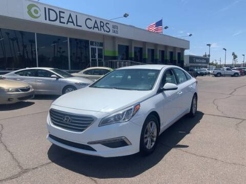2015 Hyundai Sonata for sale at Ideal Cars Broadway in Mesa AZ
