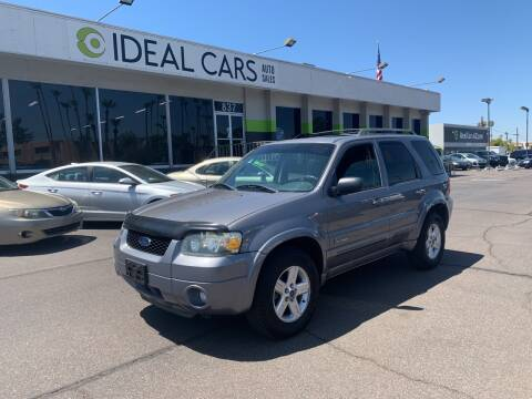 2007 Ford Escape Hybrid for sale at Ideal Cars - SERVICE in Mesa AZ