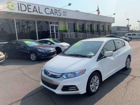 2013 Honda Insight for sale at Ideal Cars Apache Trail in Apache Junction AZ