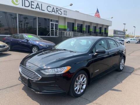 2017 Ford Fusion Hybrid for sale at Ideal Cars East Mesa in Mesa AZ