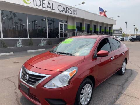 2018 Nissan Versa for sale at Ideal Cars Broadway in Mesa AZ