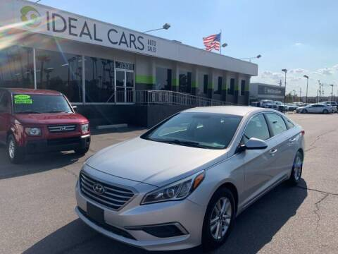 2016 Hyundai Sonata for sale at Ideal Cars in Mesa AZ