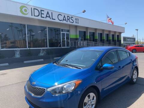 2015 Kia Forte for sale at Ideal Cars in Mesa AZ