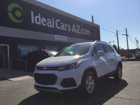 2017 Chevrolet Trax for sale at Ideal Cars Broadway in Mesa AZ