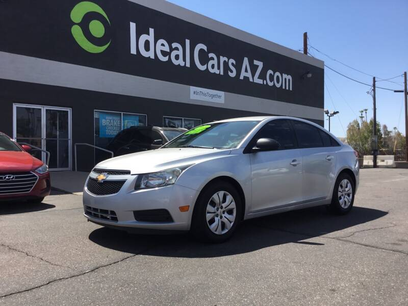 2013 Chevrolet Cruze for sale at Ideal Cars Apache Trail in Apache Junction AZ
