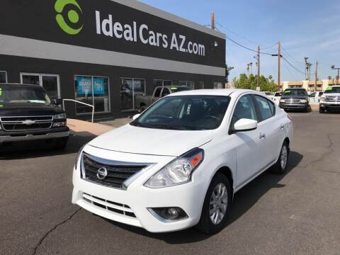 2017 Nissan Versa for sale at Ideal Cars Broadway in Mesa AZ