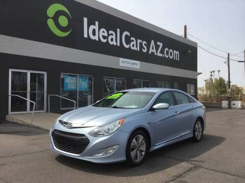 2013 Hyundai Sonata Hybrid for sale at Ideal Cars Broadway in Mesa AZ