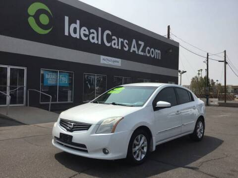 2011 Nissan Sentra for sale at Ideal Cars in Mesa AZ