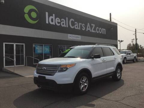 2013 Ford Explorer for sale at Ideal Cars in Mesa AZ