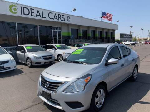 2016 Nissan Versa for sale at Ideal Cars Broadway in Mesa AZ