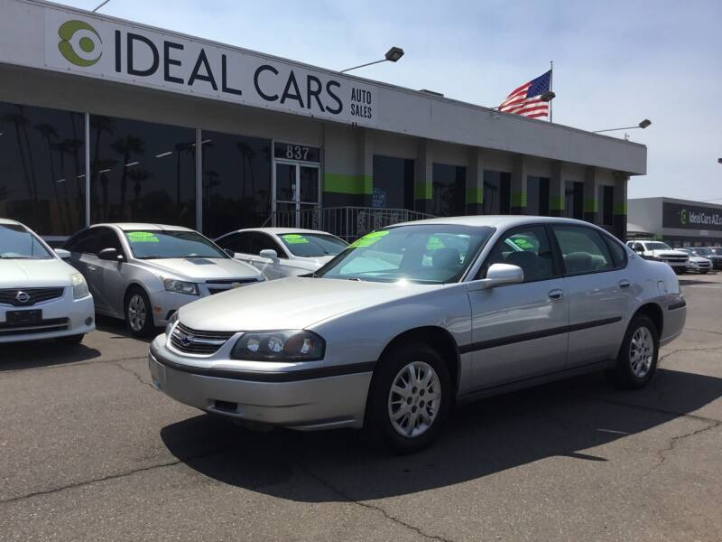2001 Chevrolet Impala for sale at Ideal Cars in Mesa AZ