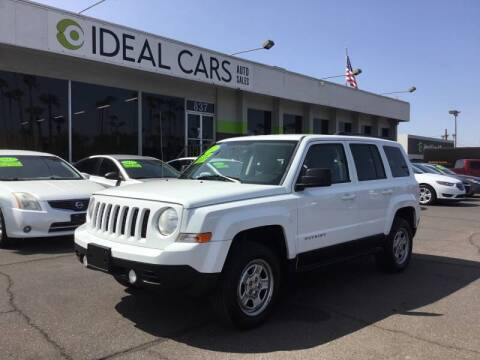 2012 Jeep Patriot for sale at Ideal Cars Broadway in Mesa AZ