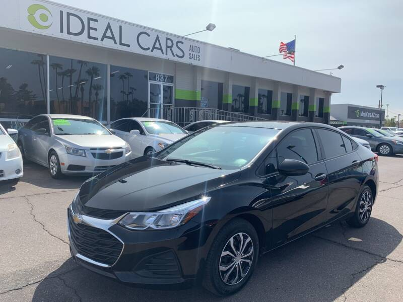 2019 Chevrolet Cruze for sale at Ideal Cars in Mesa AZ