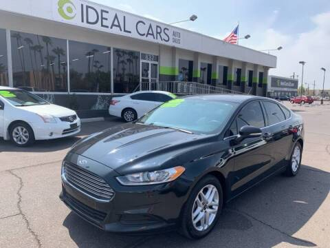 2014 Ford Fusion for sale at Ideal Cars in Mesa AZ