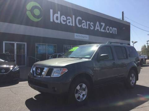 2006 Nissan Pathfinder for sale at Ideal Cars in Mesa AZ
