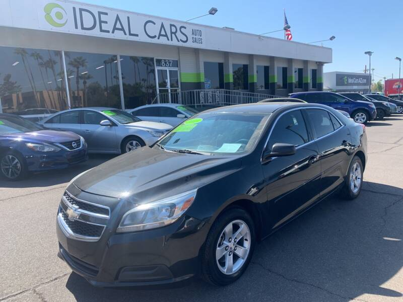 2013 Chevrolet Malibu for sale at Ideal Cars Broadway in Mesa AZ