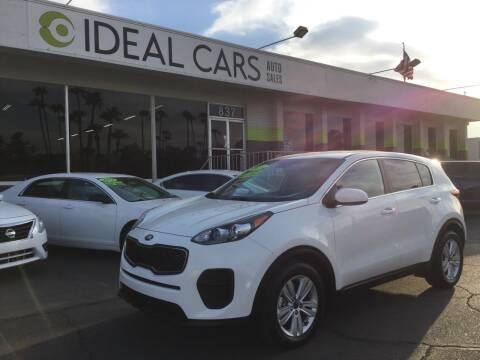 2019 Kia Sportage for sale at Ideal Cars in Mesa AZ