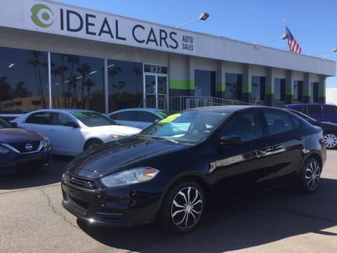 2016 Dodge Dart for sale at Ideal Cars East Mesa in Mesa AZ